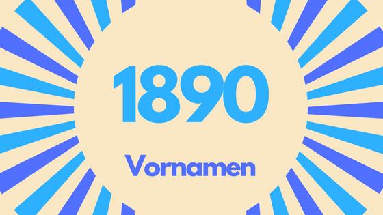 Jahrgang 1890