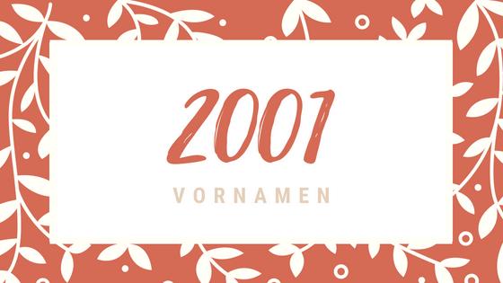 2001 Vornamen