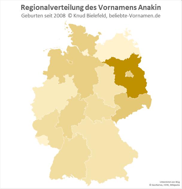 In Brandenburg ist der Name Anakin in Brandenburg.
