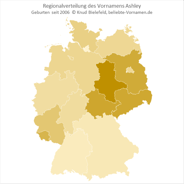 Ashley Bundesländer