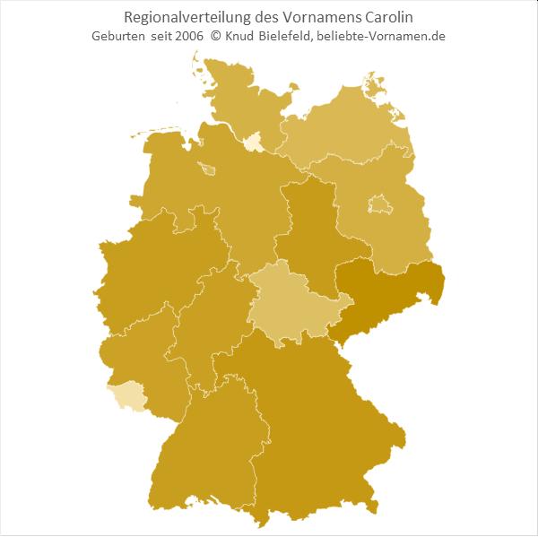 Carolin Bundesländer