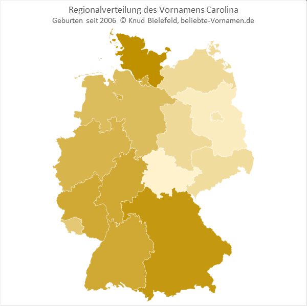 Carolina Bundesländer