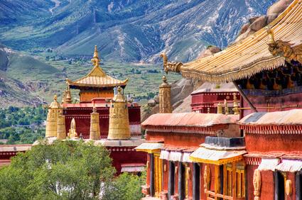 Sera Klöster bei Lhasa, Tibet © yurybirukov - fotolia.com