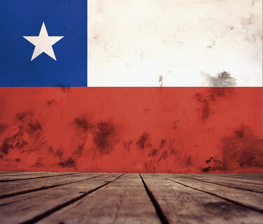 flag of Chile. © Eno1 - fotolia.com