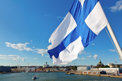 Finnische Flagge © Dmitry Naumov - Fotolia.com