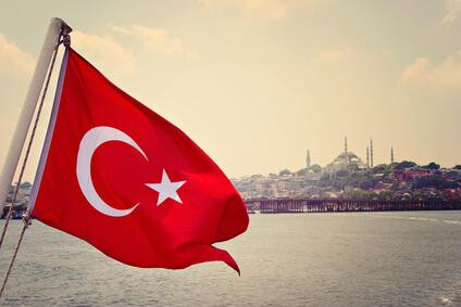 Türkische Flagge © Cristal Oscuro - Fotolia