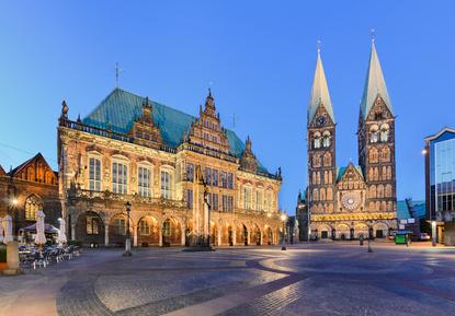 Rathaus und Dom von Bremen © Mapics - fotolia.com