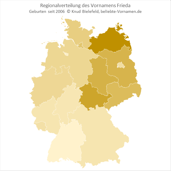 Frieda Bundesländer