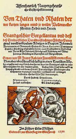 Johann Fischart - Affentheurlich Naupengeheurliche Geschichtklitterung
