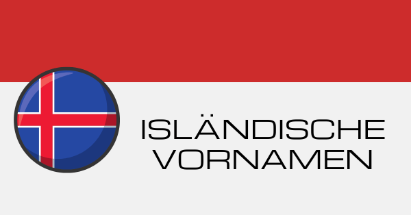 Isländische Vornamen