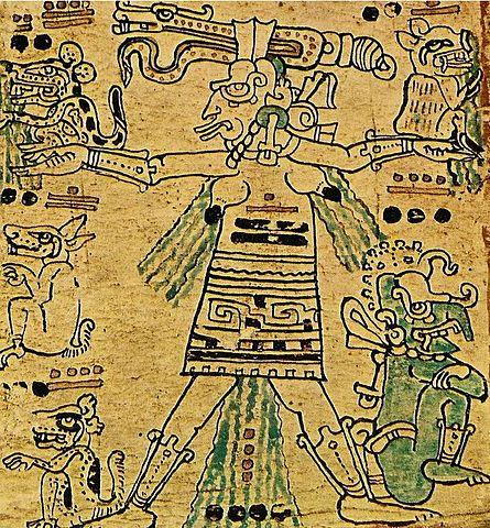 Ixchel, Fruchtbarkeitsgöttin der Maya