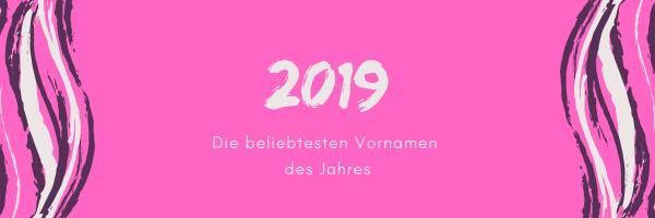 Namen 2019