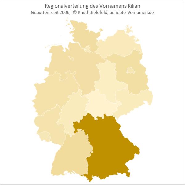 Kilian Bundesländer