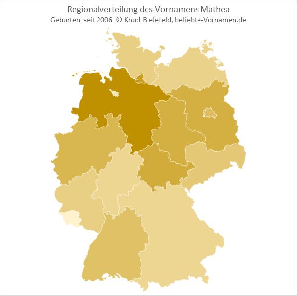 Mathea Bundesländer