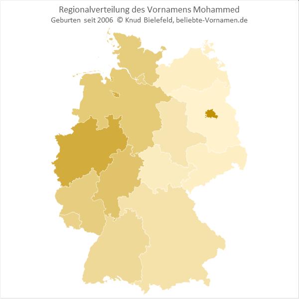 Mohammed Bundesländer