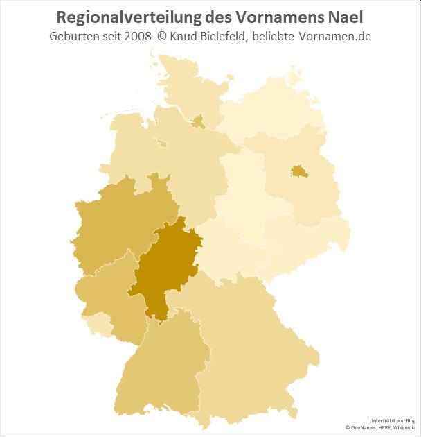 In Hessen ist der Name Nael besonders beliebt.
