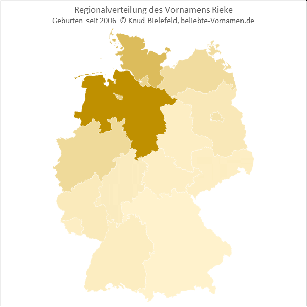 Rieke Bundesländer