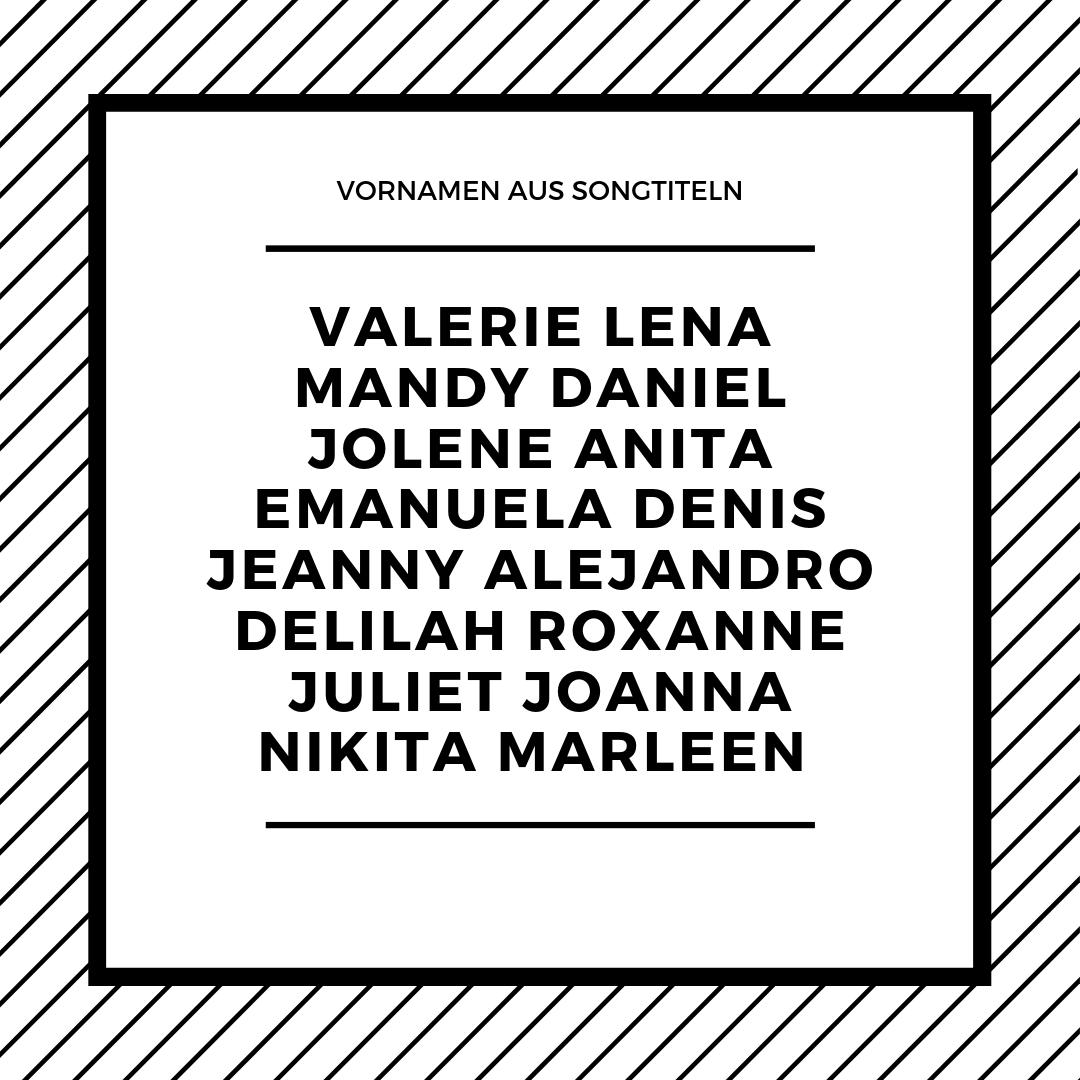 Namenslexikon Vornamen