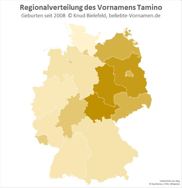 In Thüringen ist der Name Tamino besonders beliebt.