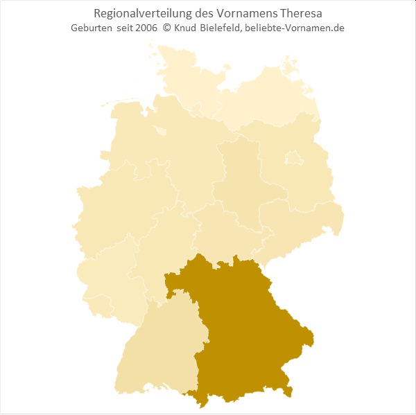 Theresa Bundesländer