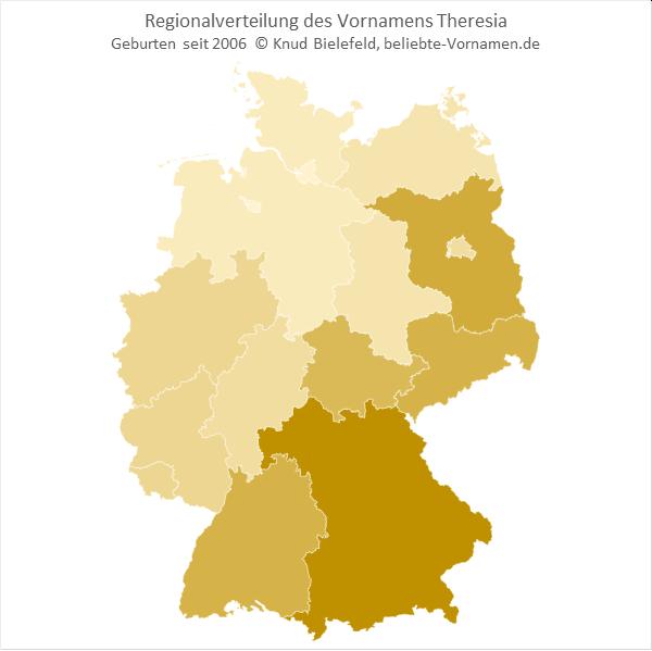 Theresia Bundesländer