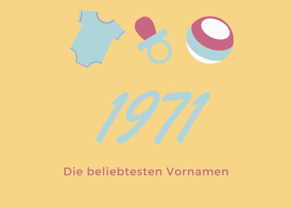 Vornamen 1971