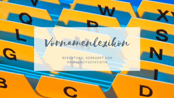 Vornamenlexikon