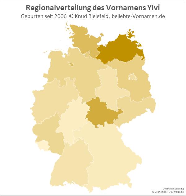 In Mecklenburg-Vorpommern ist die Variante Ylvi am beliebtesten.