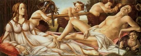 Sandro Boticelli: Venus und Mars
