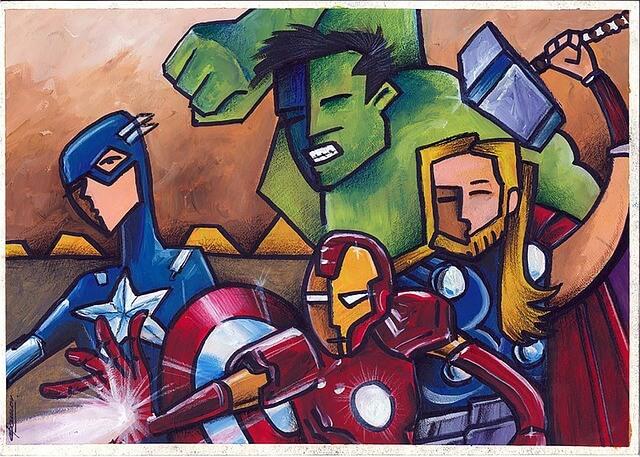 Superhelden von Carlos Gabriel Morales Toro