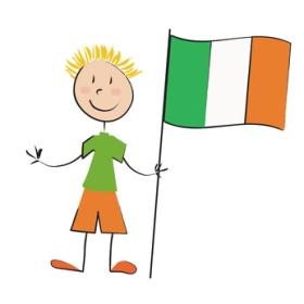 Enfant Drapeau Irlande © Pétrouche - Fotolia.com