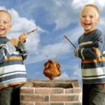 Genialer Streich: Eineiige Zwillinge heißen Max & Moritz
