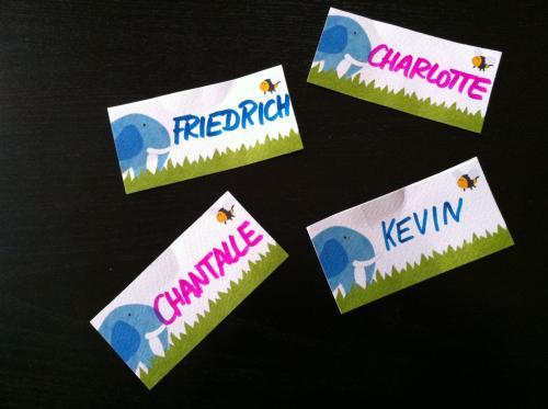 Vornamenkarten